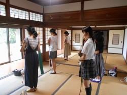 H30.7.16神子舞練習